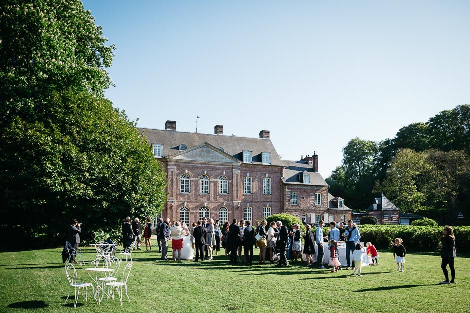 Wedding in Chateau de Sauchay